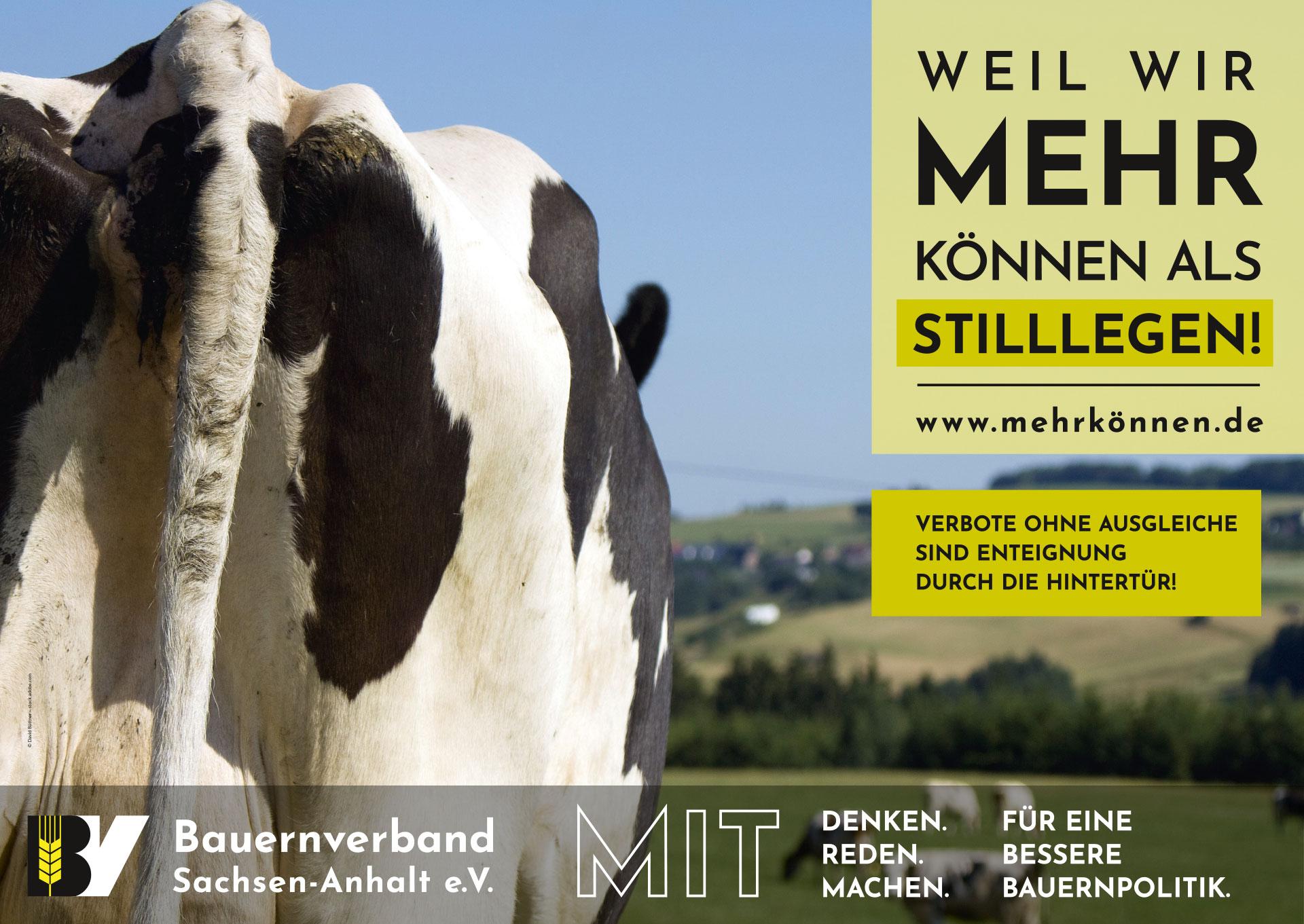 Plakatmotiv: Weil wir mehr können als Stillegen!